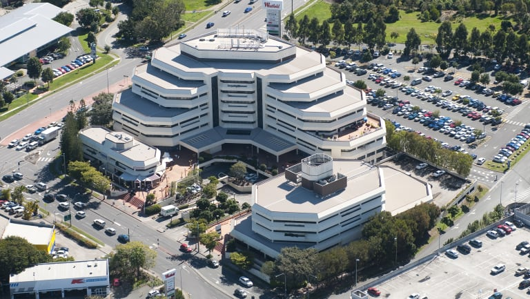 The Tax Office has space in Scentre's Chermside development.