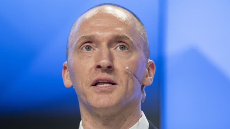 Carter Page is a former foreign policy adviser of US President-elect Donald Trump.