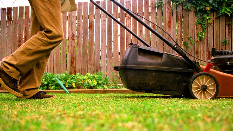 Joe Bloggs Lawn Mowing would need to be registered as a business name.