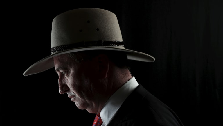 Deputy Prime Minister Barnaby Joyce is clinging to his job.