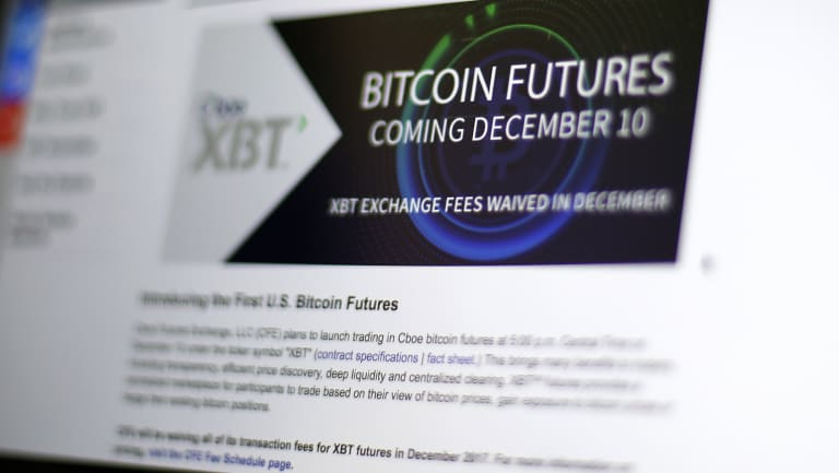 The trading of bitcoin futures had been hugely anticipated by investors.