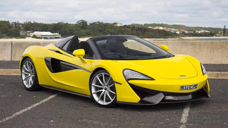 A stock image of a McLaren.