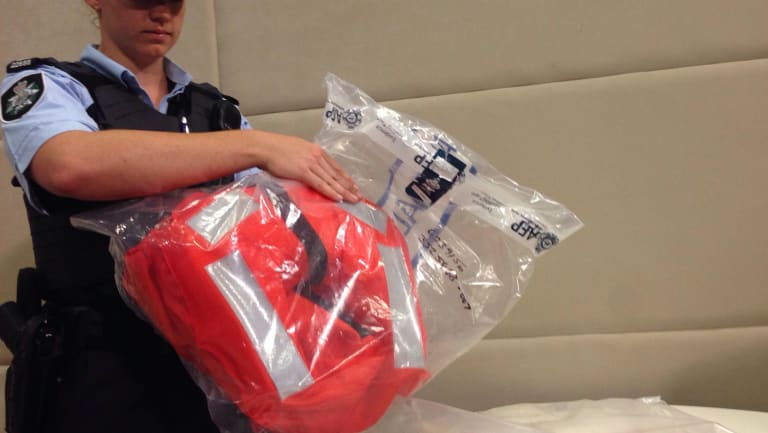 Police will allege some of the drugs found at Dampier Port were found in this life vest.