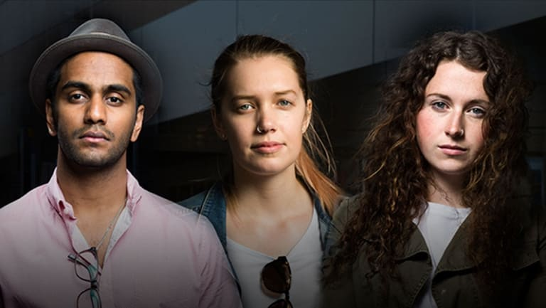 Nathan Subaness, Kiara Robinson and Ashleigh Mounser were underpaid by a range of fast-food outlets, cafes and restaurants in Wollongong.