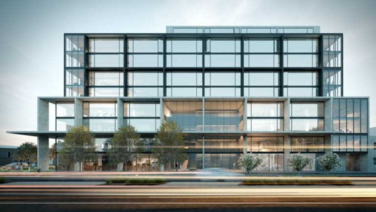 Peregrine Projects' proposed development at 175 Burnley Street, Richmond