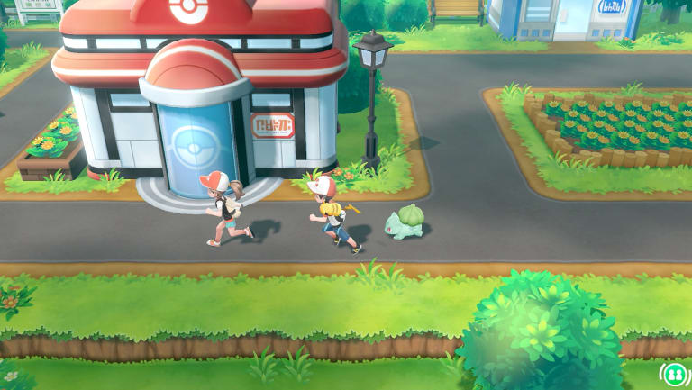 Two players can play the new games at once, and you can choose a buddy pokemon to follow you around in addition to Pikachu or Eevee.