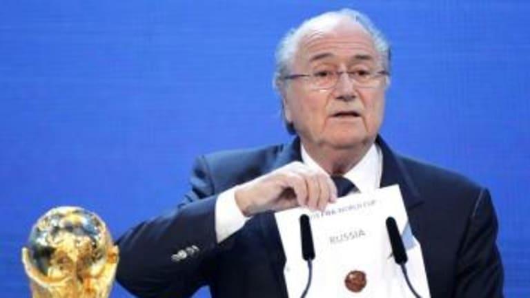 Disgraced: Sepp Blatter.