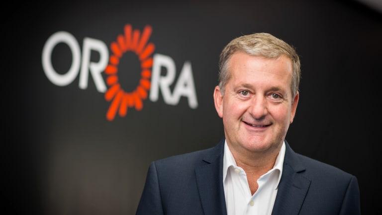 Orora chief executive Nigel Garrard