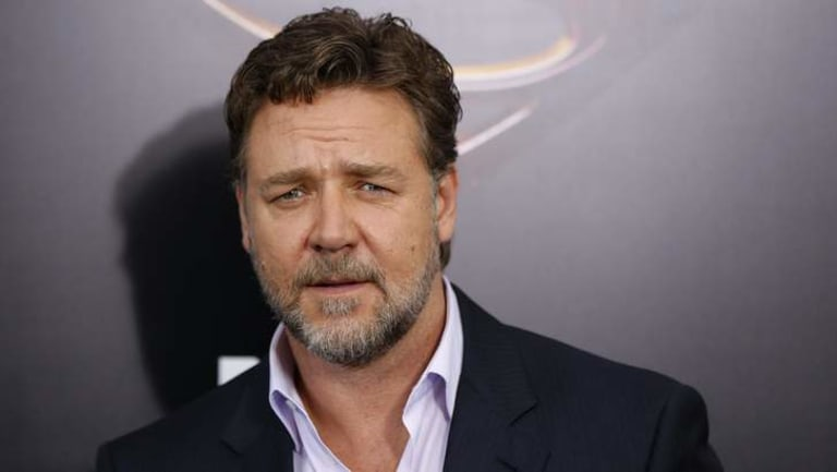 Letting go: Russell Crowe is selling his sporting memorabilia.