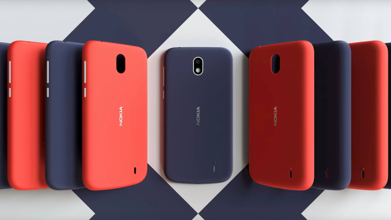 The Nokia 1 runs a version of Android 8.1, but it looks just like an old Nokia.
