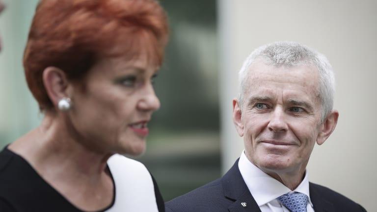 Senator Pauline Hanson announces Former Senator Malcolm Roberts latest attempt to return to politics.