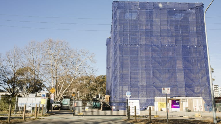 Macarthur House, which is currently being demolished is bounded by Wattle Place, MacArthur Avenue, and Northbourne Avenue. The block is the final parcel to be sold as part of the initiative.