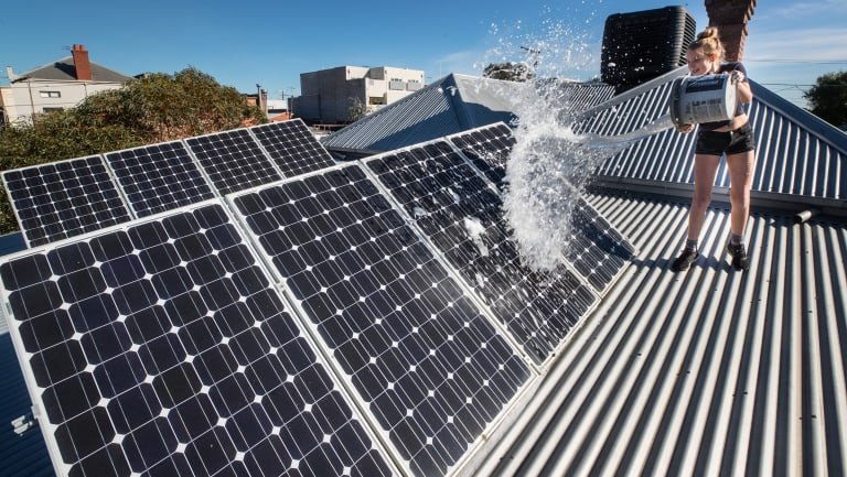 The majority of Australia's renewable generation will come from rooftop solar panels.