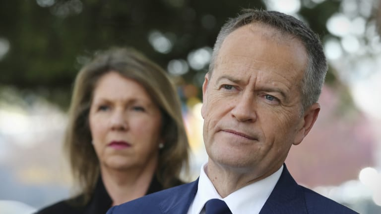 Shadow Health Minister Catherine King and Opposition Leader Bill Shorten