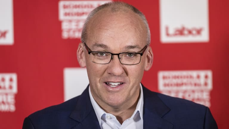 NSW Labor leader Luke Foley