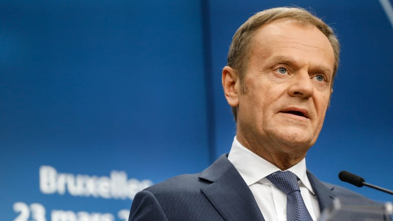 Donald Tusk, president of the European Union
