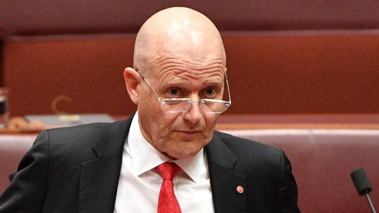 Senator David Leyonhjelm.