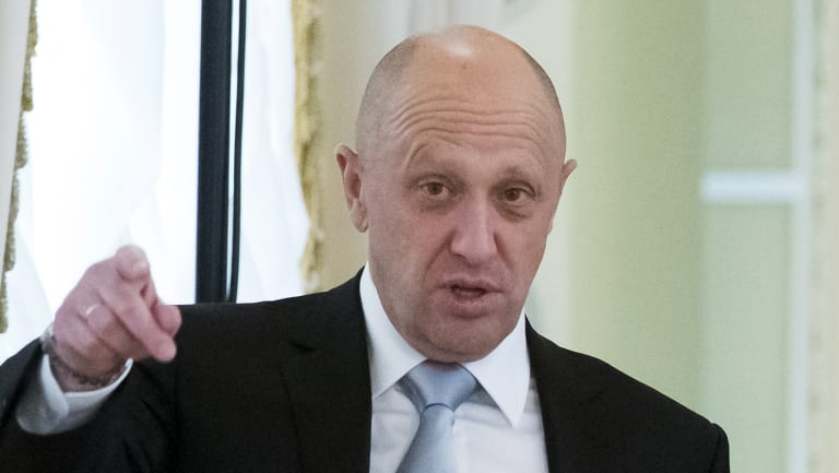 Yevgeny Prigozhin was one of those indicted in the US Russia probe.