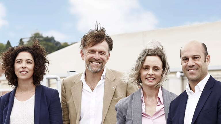 DC Power Co founders Monique Conheady, Nic Frances Gilley, Emma Jenkin and Nick Brass