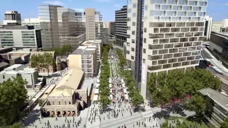 The $2 billion Parramatta Square redevelopment.