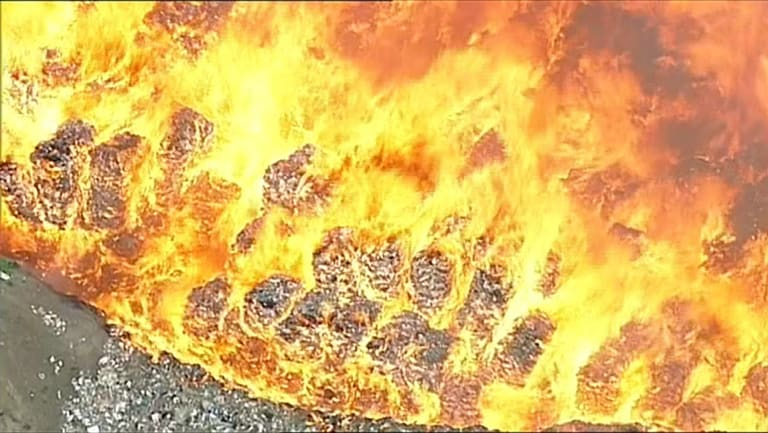 Firefighters took 11 days to bring the football-field-sized fire at SKM's Coolaroo recycling site under control.