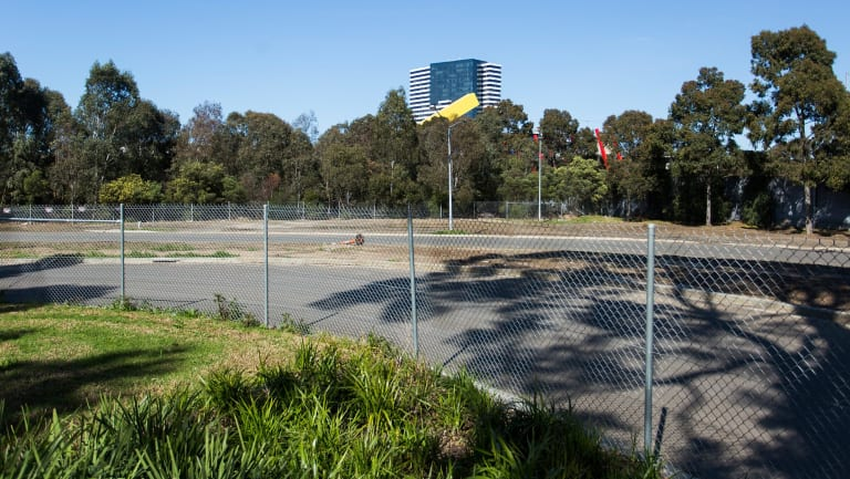 This is the site where developers want to build towers up to 21 levels high.