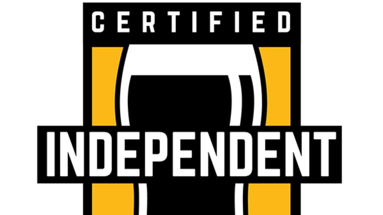 The Independent Brewers Association seal of independence.