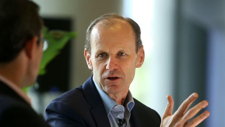 ANZ's Shayne Elliott says the royal commission is leading to a more cautious mindset among bankers.