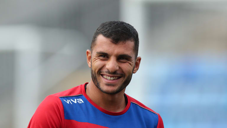 Socceroos call-up: Andrew Nabbout.