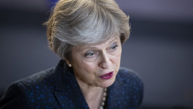 Prime Minister Theresa May has fended off a revolt but her Brexit plan is in tatters.