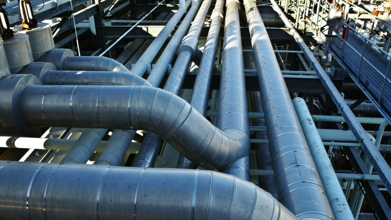 Much of Australia's domestic gas is transported via APA's pipeline network.