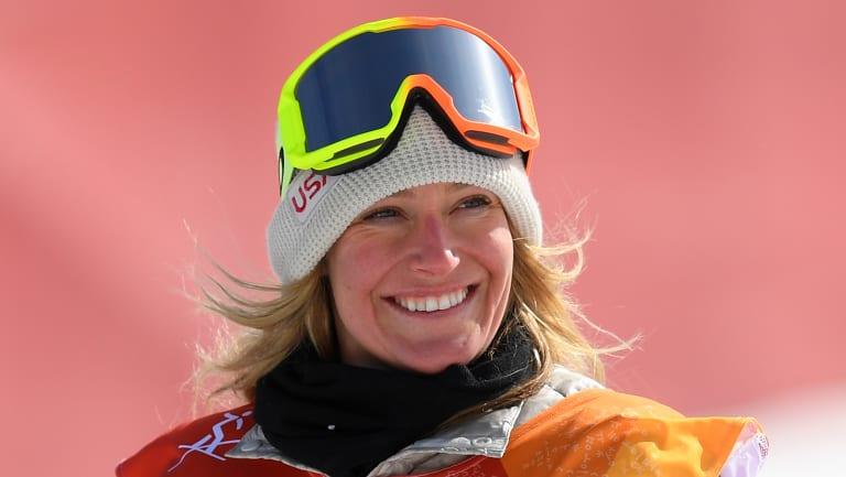 Gold medallist Jamie Anderson