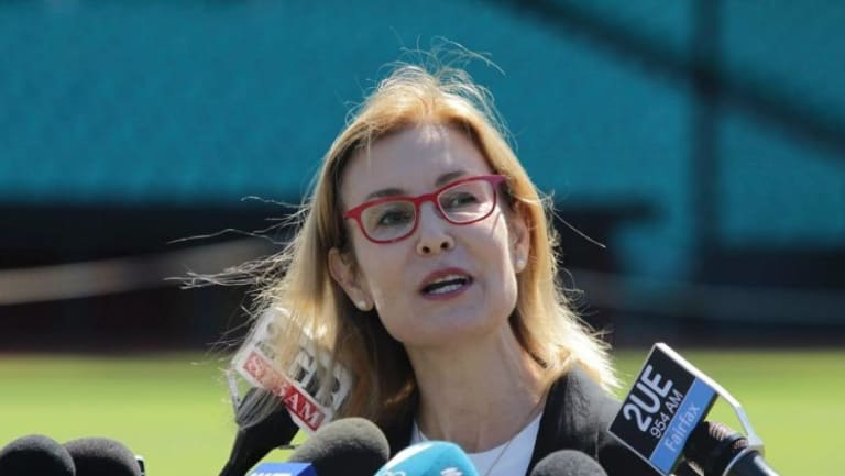 Environment Minister Gabrielle Upton says NSW can't ban PFAS chemicals.
