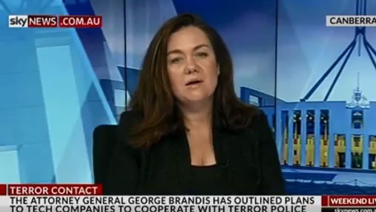 Samantha Maiden hasn't appeared on Sky News since last week.