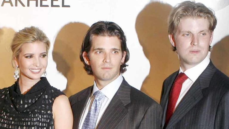 Ivanka, Donald Jr and Eric Trump are listed in the law suit.