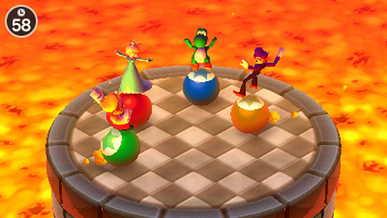 Many of the most fondly remembered mini games return in The Top 100.