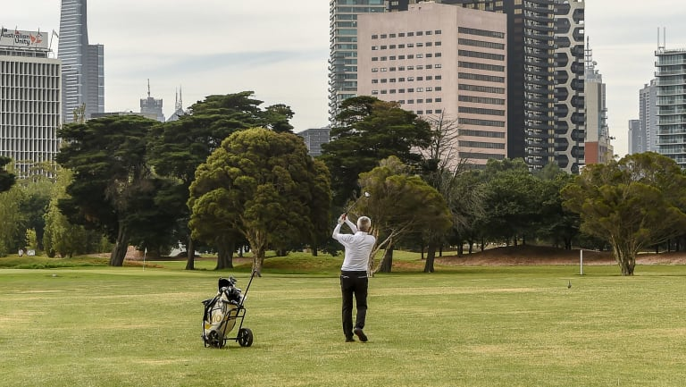 Parks Victoria has now backed away from a plan to shrink the course to nine holes.