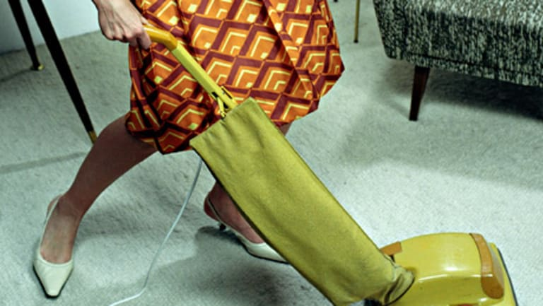 In less-educated households,, women do more housework when their men lose their jobs.