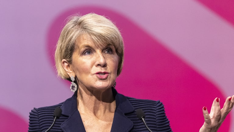 Minister for Foreign Affairs Julie Bishop