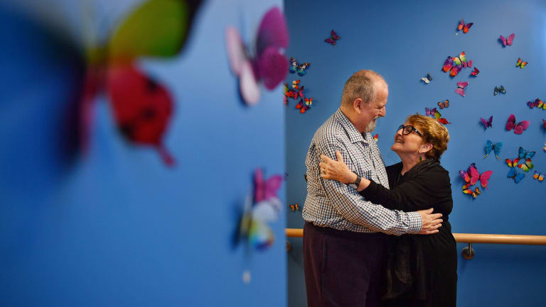 Anne Fairhall is a carer for her husband, Geoff, who has been living with dementia for over 20 years.
