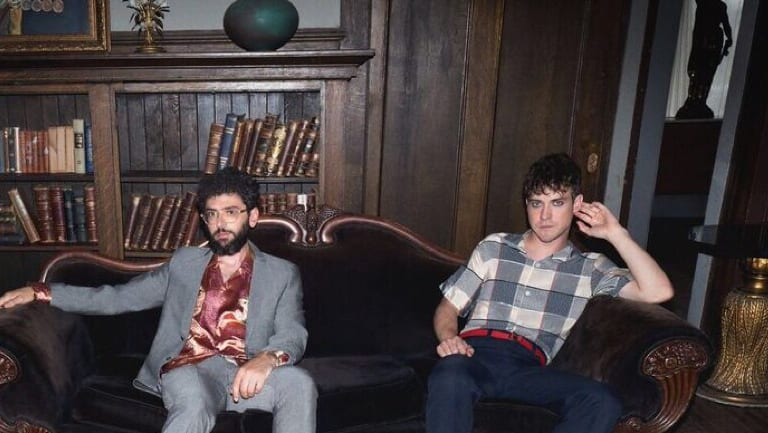 MGMT's Ben Goldwasser (left) and Andrew VanWyngarden return to Australia on the back of fourth album Little Dark Age.