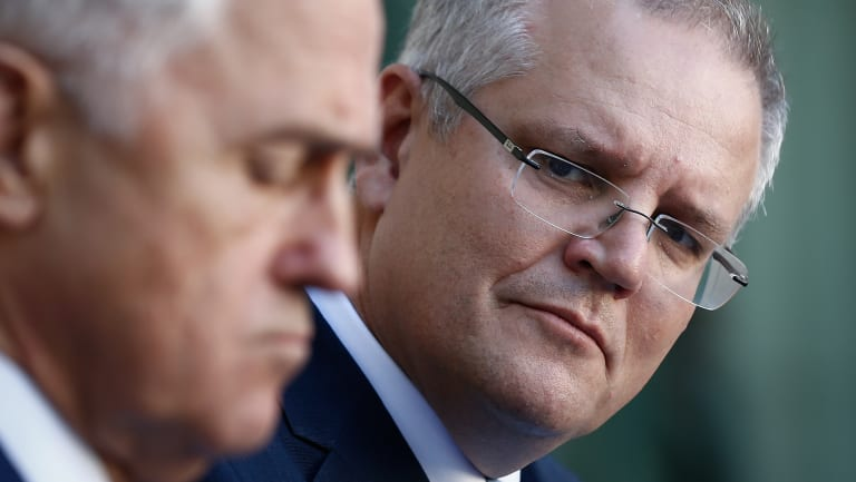 Treasurer Scott Morrison has accused Labor of leaving a $57 billion shortfall in funding for the NDIS when it left office..