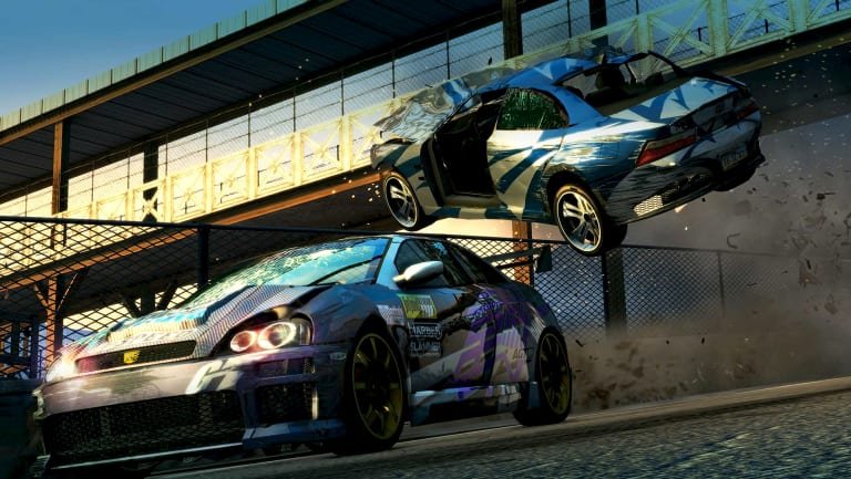 Wrecking opponents not only looks and feels awesome, it can be a handy way to unlock new cars.