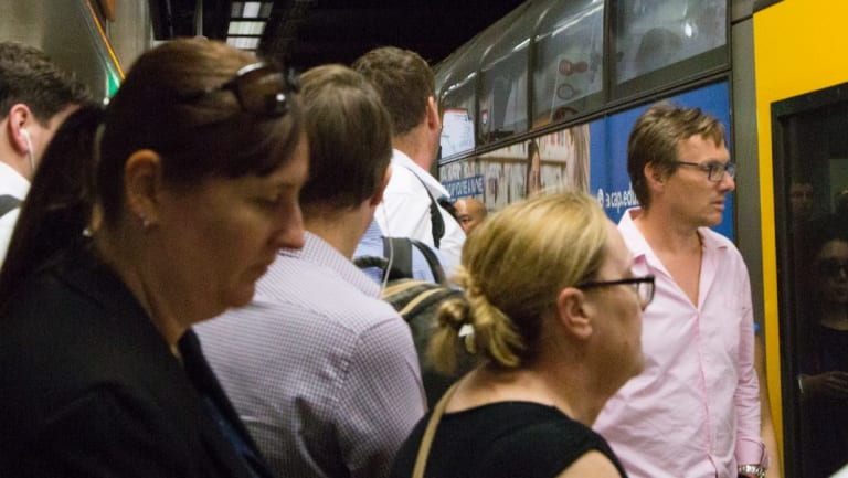 Peak hour begins at Town Hall station. Will public transport keep up with population growth?