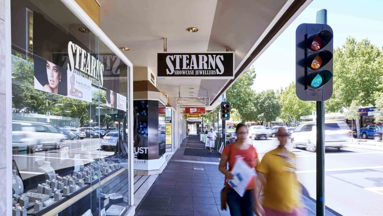The Stearns Showcase Jewellery store in Bendigo.