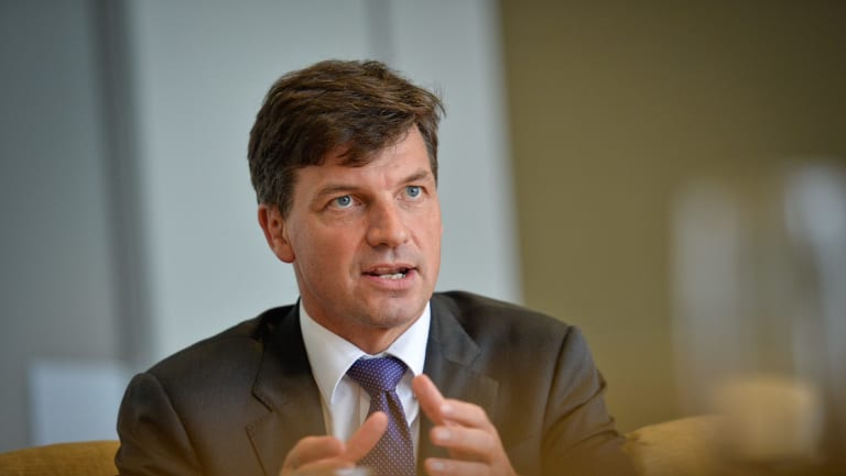 Assistant Minister for Digital Transformation Angus Taylor was in Brisbane on Wednesday to visit Speedwell.