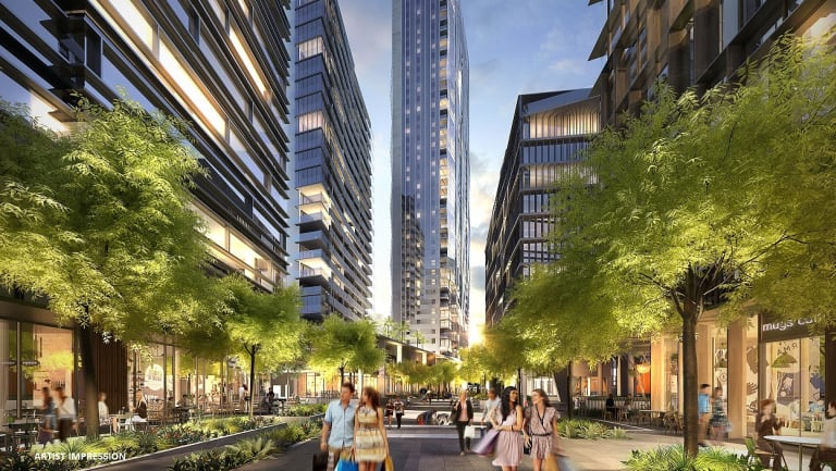A redeveloped Parramatta is being pitched as the new centre of Sydney.