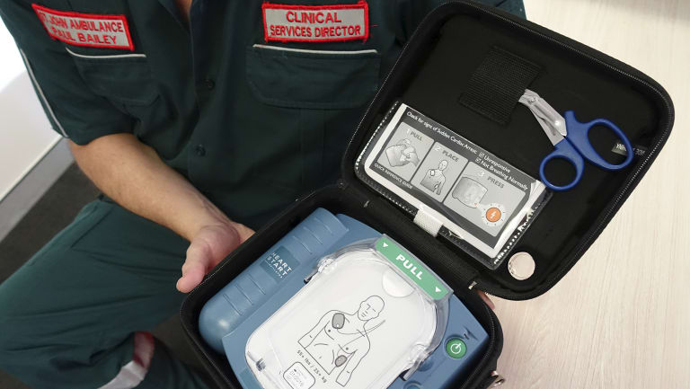 Dr Bailey doesn't go anywhere in the car without taking a defibrillator.