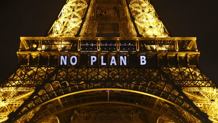 Australia signed up to the Paris climate accord in 2015, pledging to cut emissions by 26-28 per cent by 2030, compared with 2005 levels.