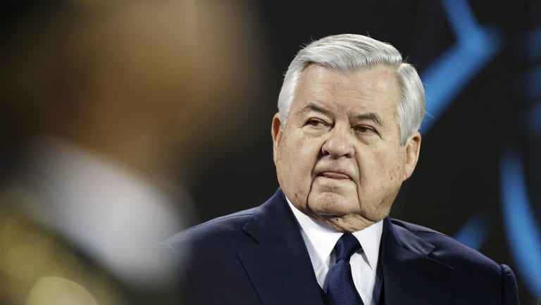 Pushed out: Former owner Jerry Richardson.